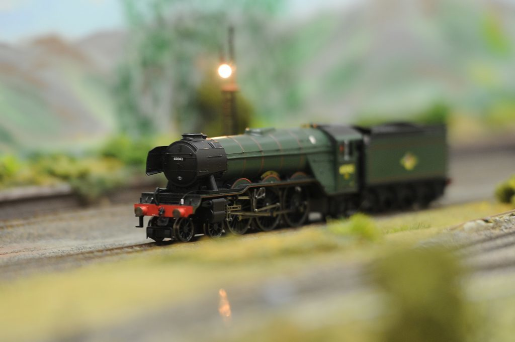 Fife Model Railway Club hosted an exhibition in 2016
