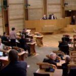 Nicola Sturgeon backs minister Roseanna Cunningham over Holyrood terror row