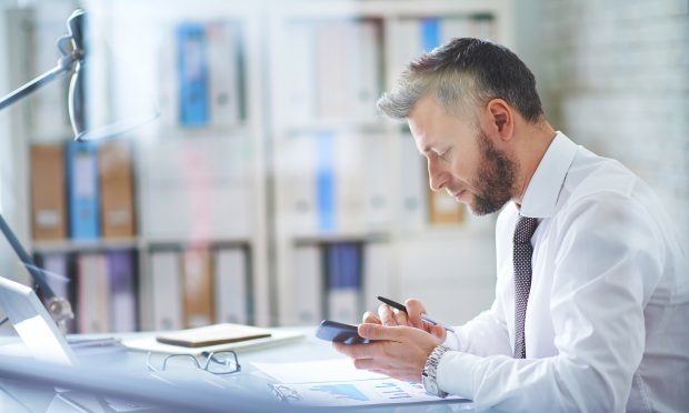 Texting at work - good for business or a 21st century necessity?