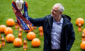 20/03/17   FIR PARK - MOTHERWELL  Dundee United manager Ray MacKinnon looks ahead to Saturday's Irn Bru Cup Final