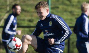 20/03/17  SCOTLAND TRAINING  ORIAM - EDINBURGH  Scotland's Ryan Fraser trains ahead of his side's match against Canada