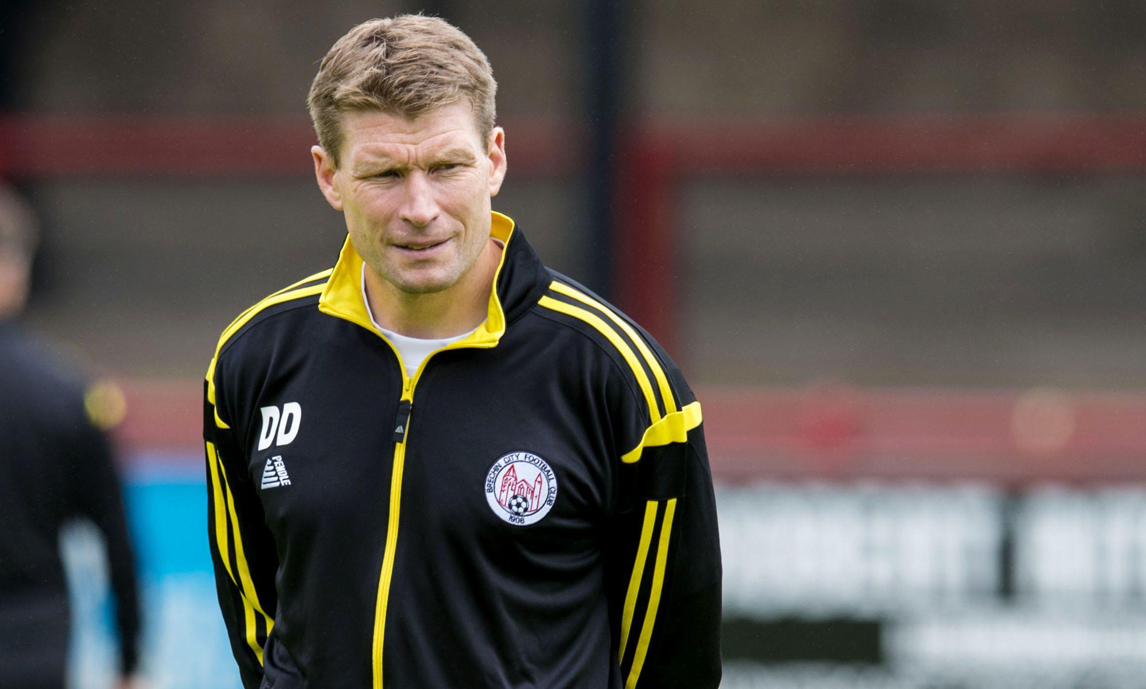 Brechin manager Darren Dods.