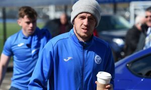 Hibernian-bound Danny Swanson wants to help St Johnstone into Europe