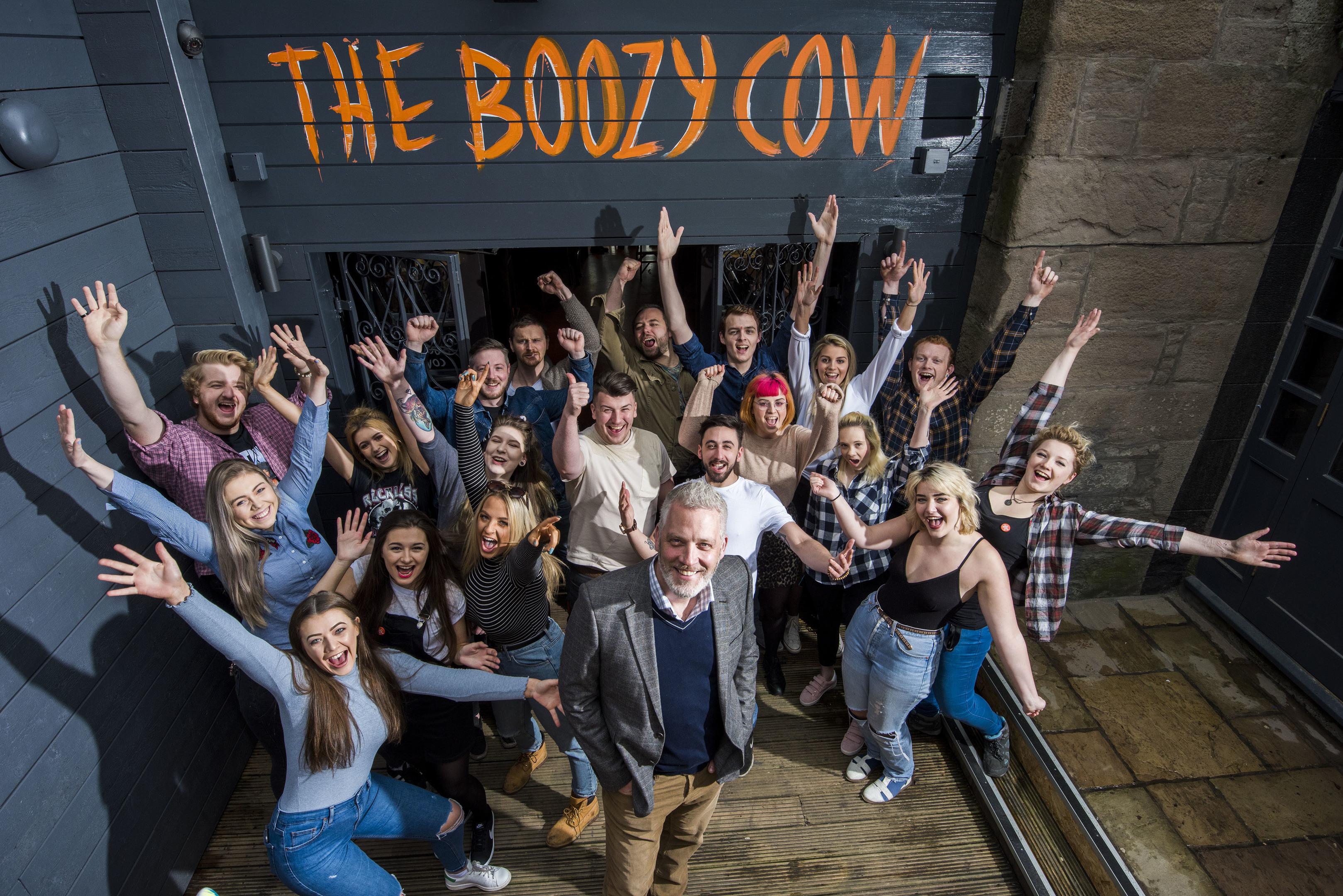 The Boozy Cow staff.