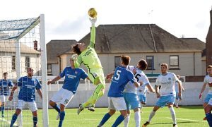 Allan Fleming's dramatic save late in game.