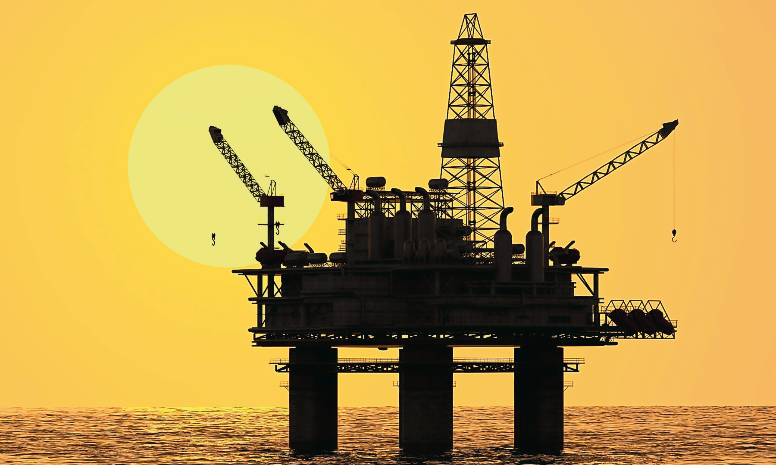 Improvements in the oil and gas sector may be partly responsible for a fall in distress reports