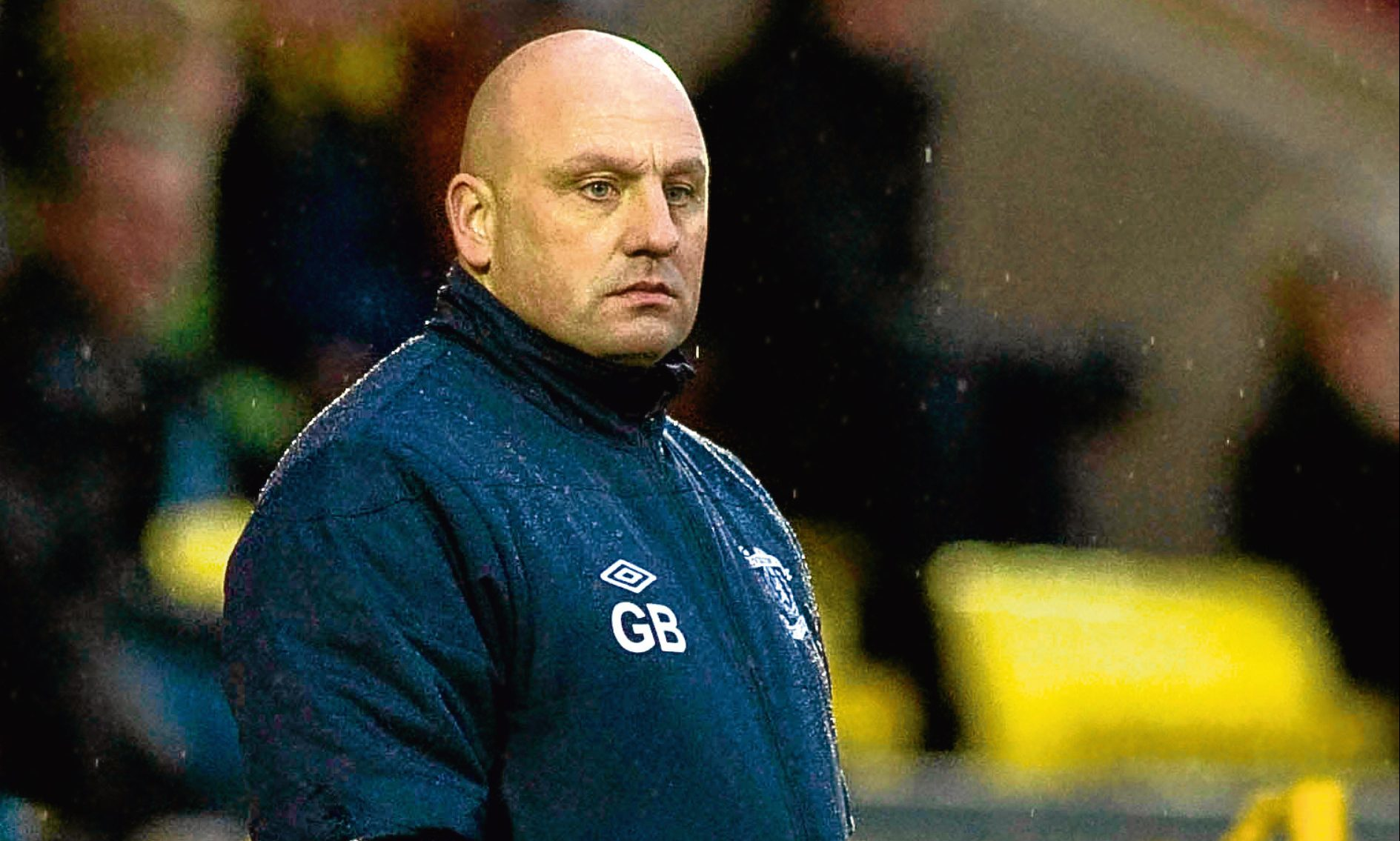 Livingston manager Gary Bollan.