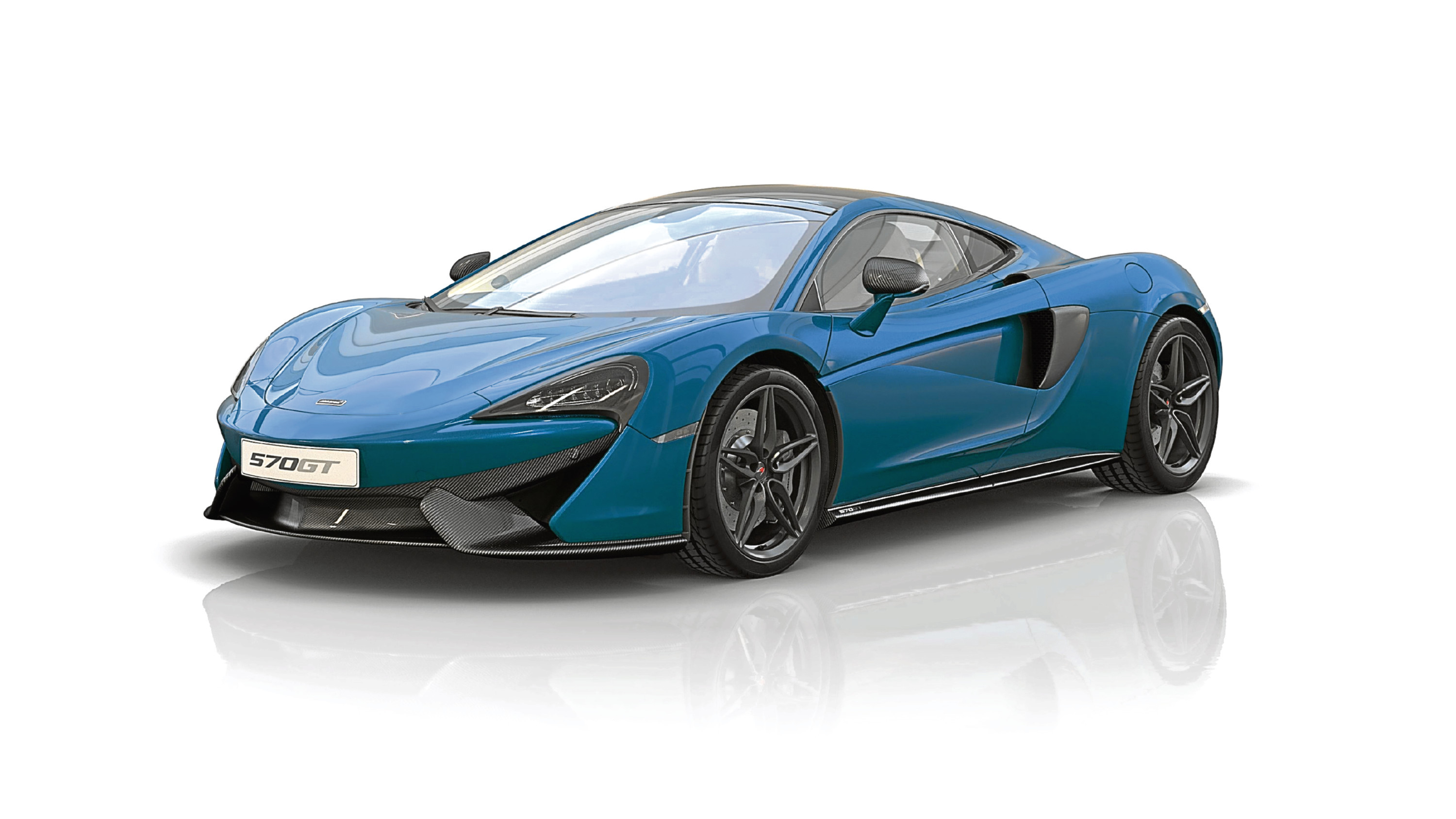 Undated Handout Photo of the 570GT Commemorative Edition, a low volume version of McLaren's exciting GT car. See PA Feature MOTORING News. Picture credit should read: PA Photo/McLaren. WARNING: This picture must only be used to accompany PA Feature MOTORING News.