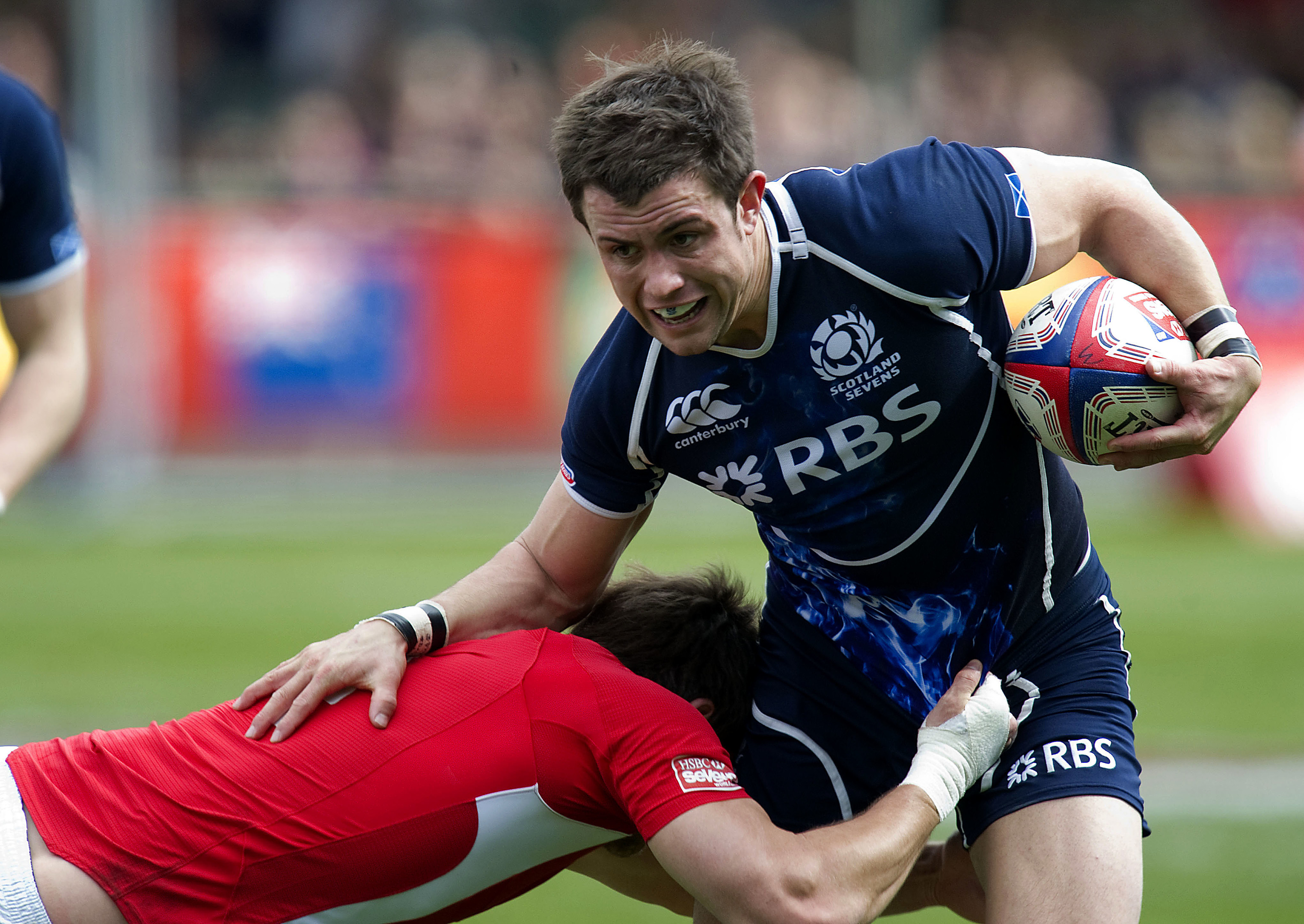 James Fleming played in 45 World Series events for Scotland 7s.