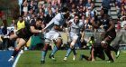 Glasgow's Brian Alainu'uese leads the charge in the European quarter-final at Allianz Park.