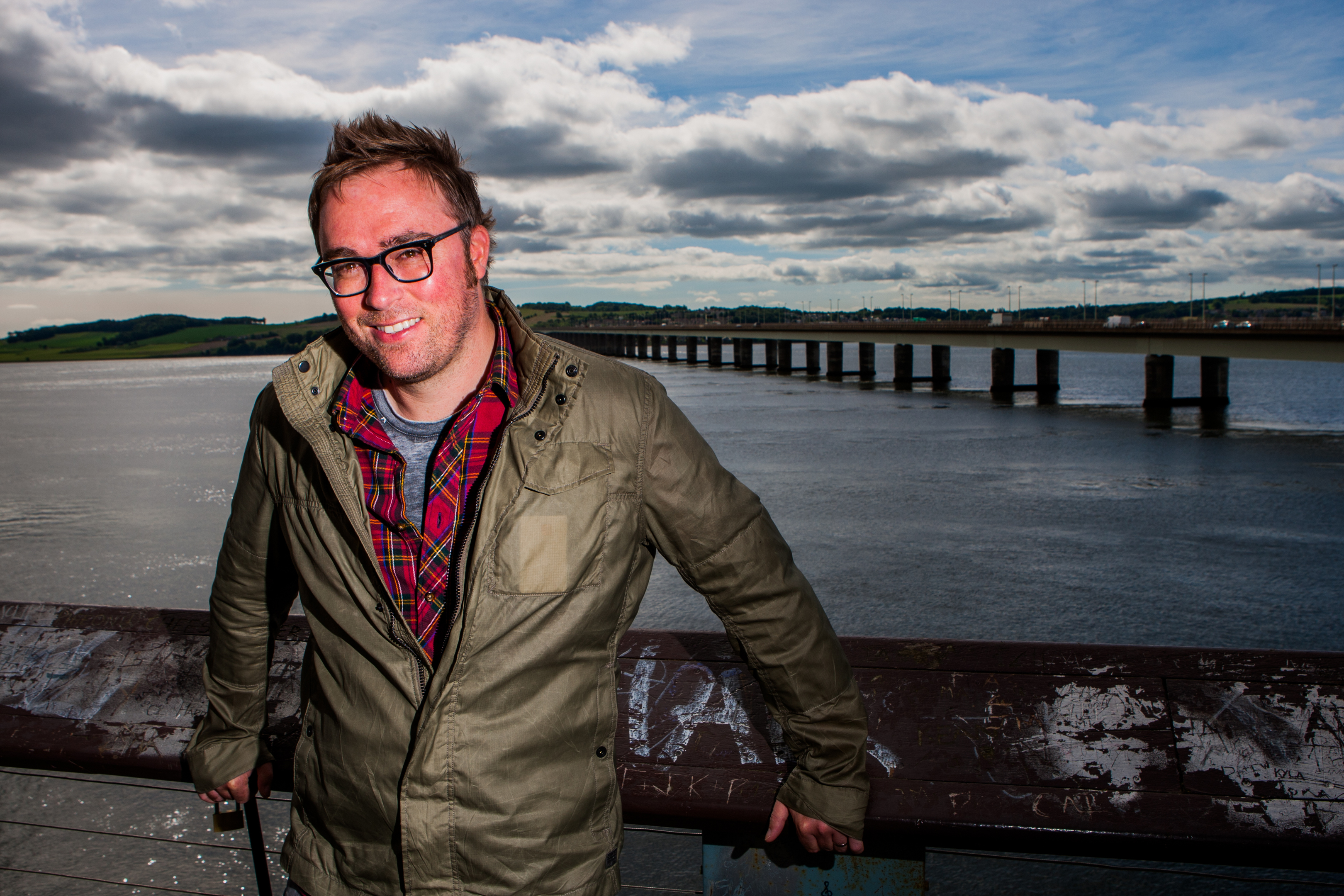 Writer Danny Wallace.