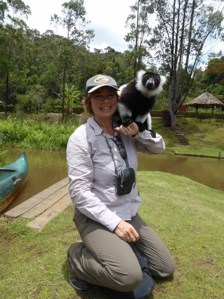 Searching for lemurs, Madagascar.