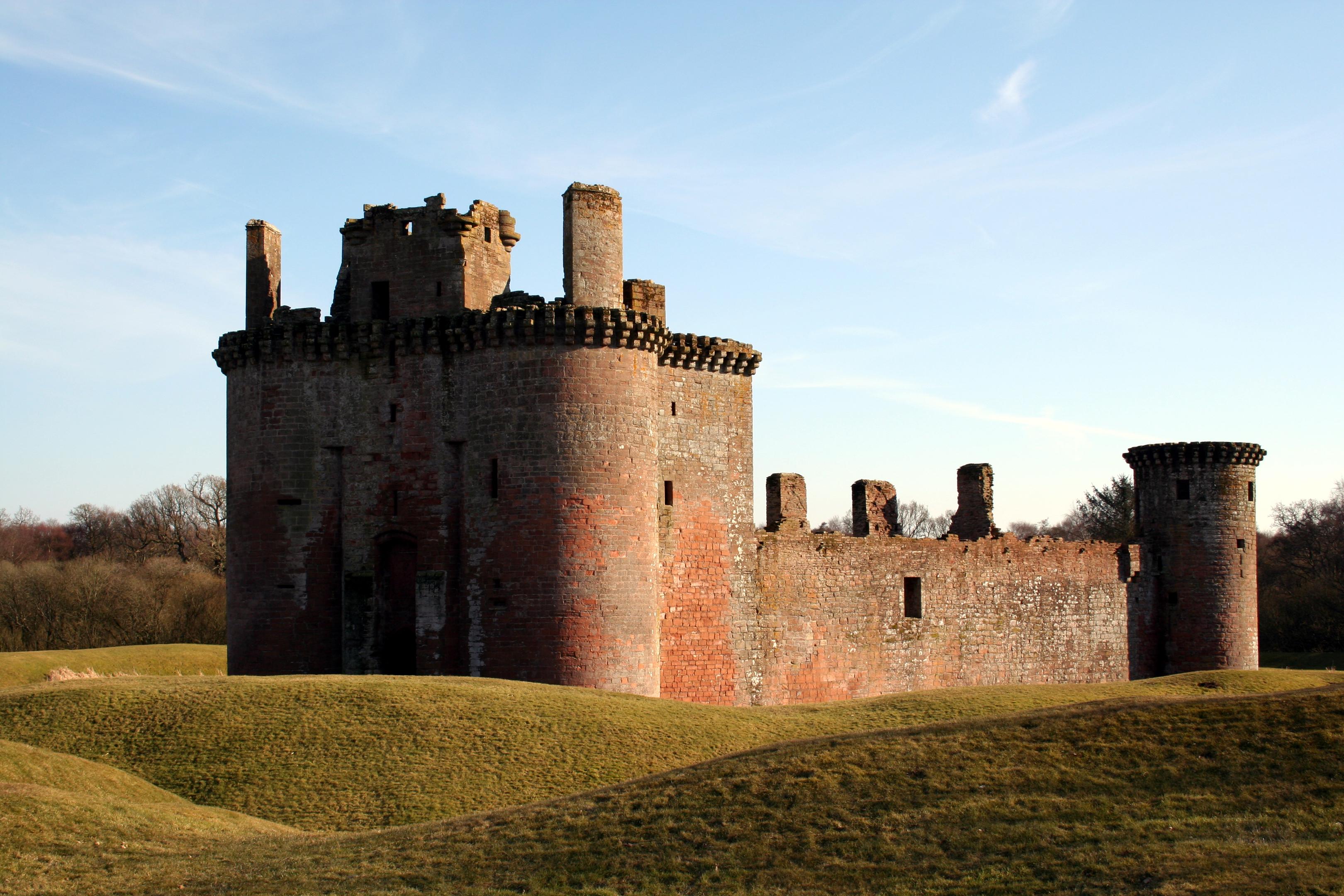 Caerlaverock Castle.