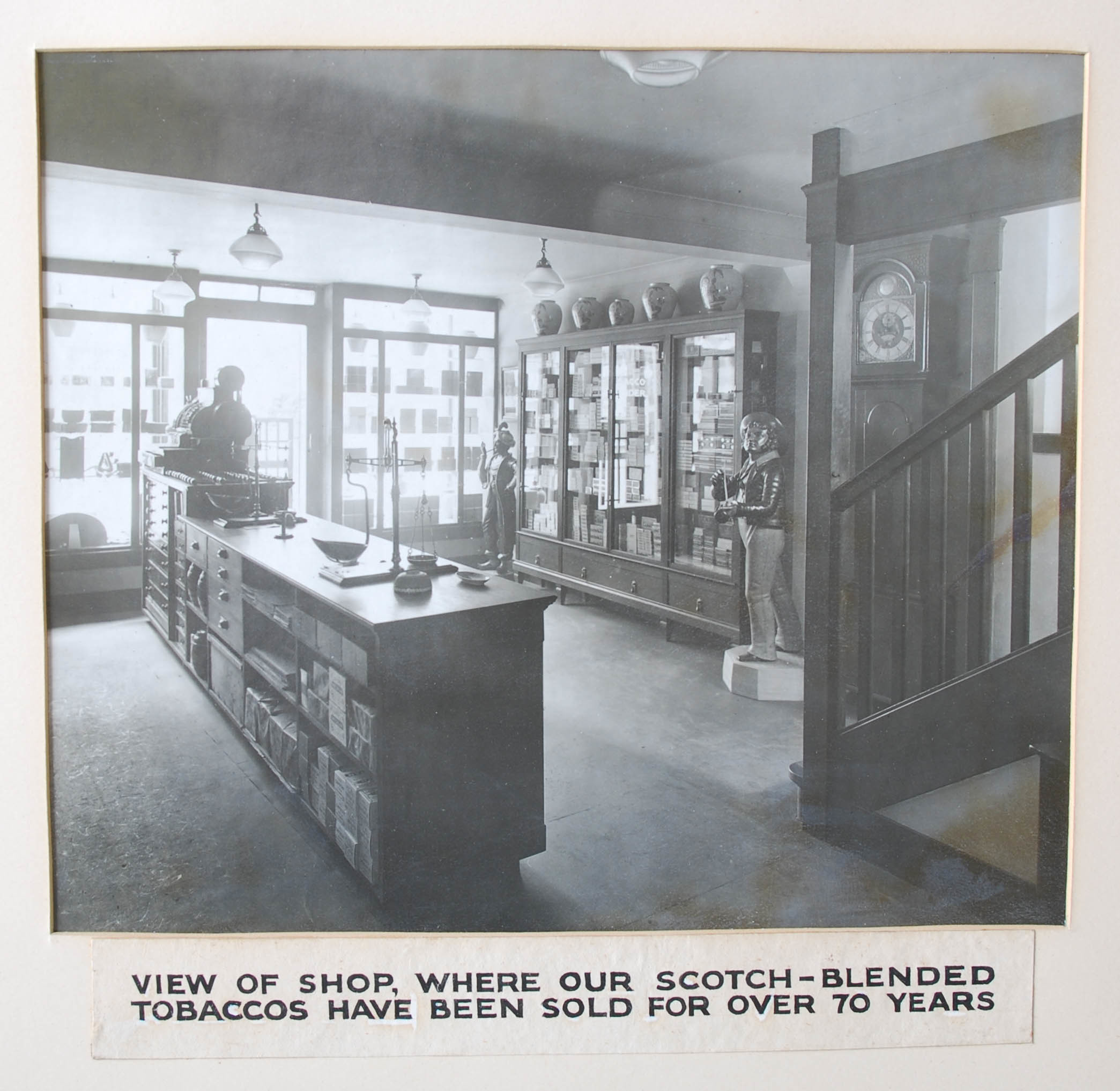 The interior of Charles Rattray as it once was in Perth High Street.