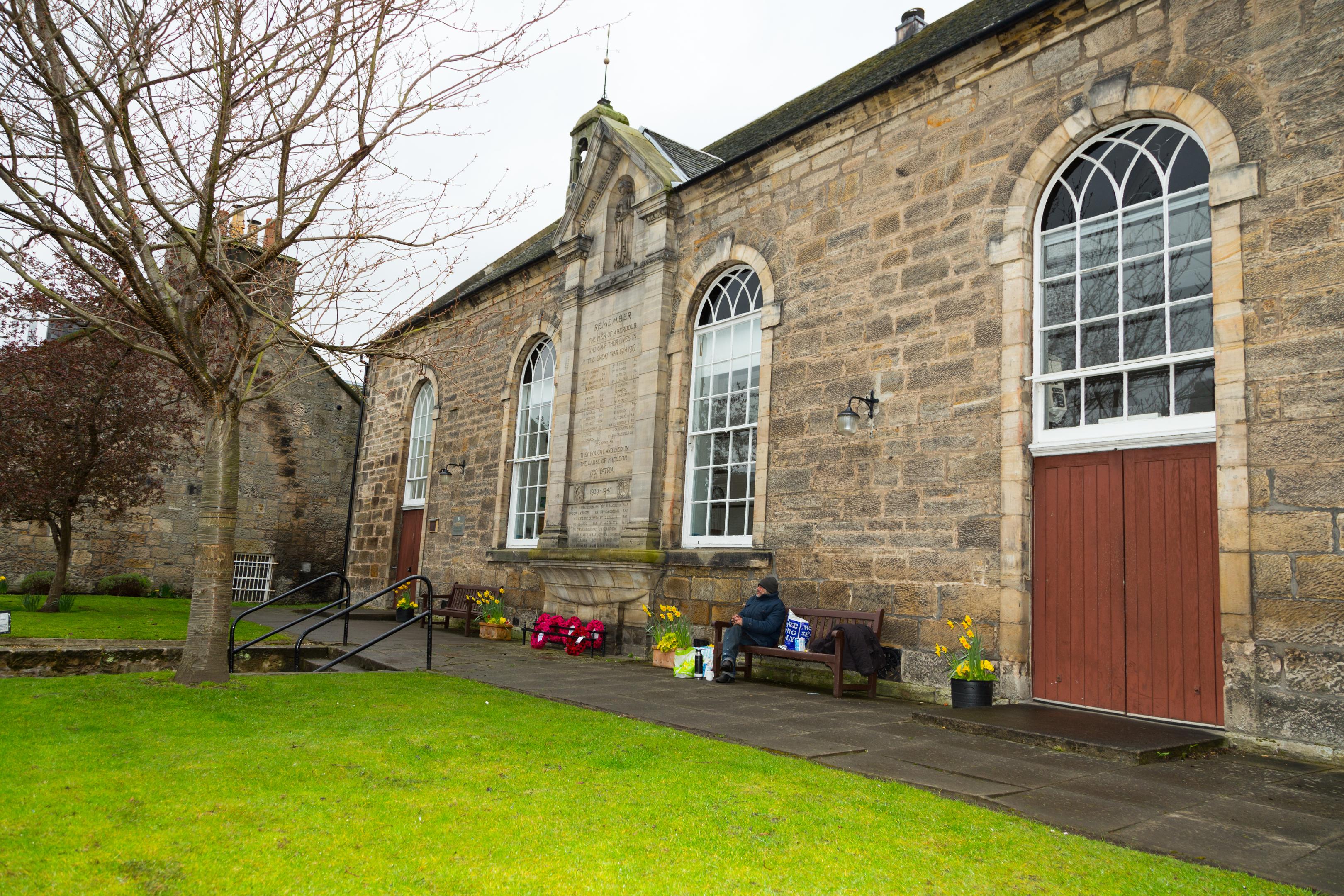 St Fillan's Church Hall in Aberdour.