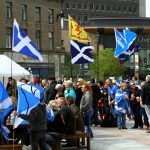 Independence rally draws large crowd in Dundee's City Square