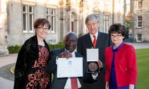 Worldwide farmers' aid wins St Andrews Prize for the Environment