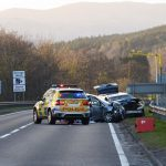 Serious road accident led to closure of A9 in Perthshire
