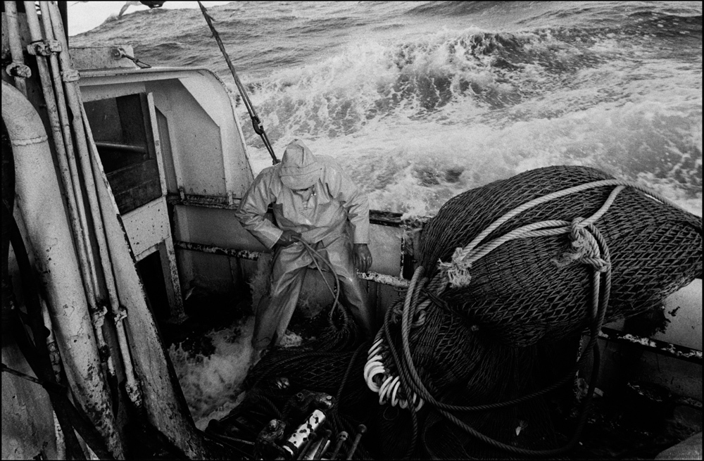 'Argosy' seine netter, North Sea.