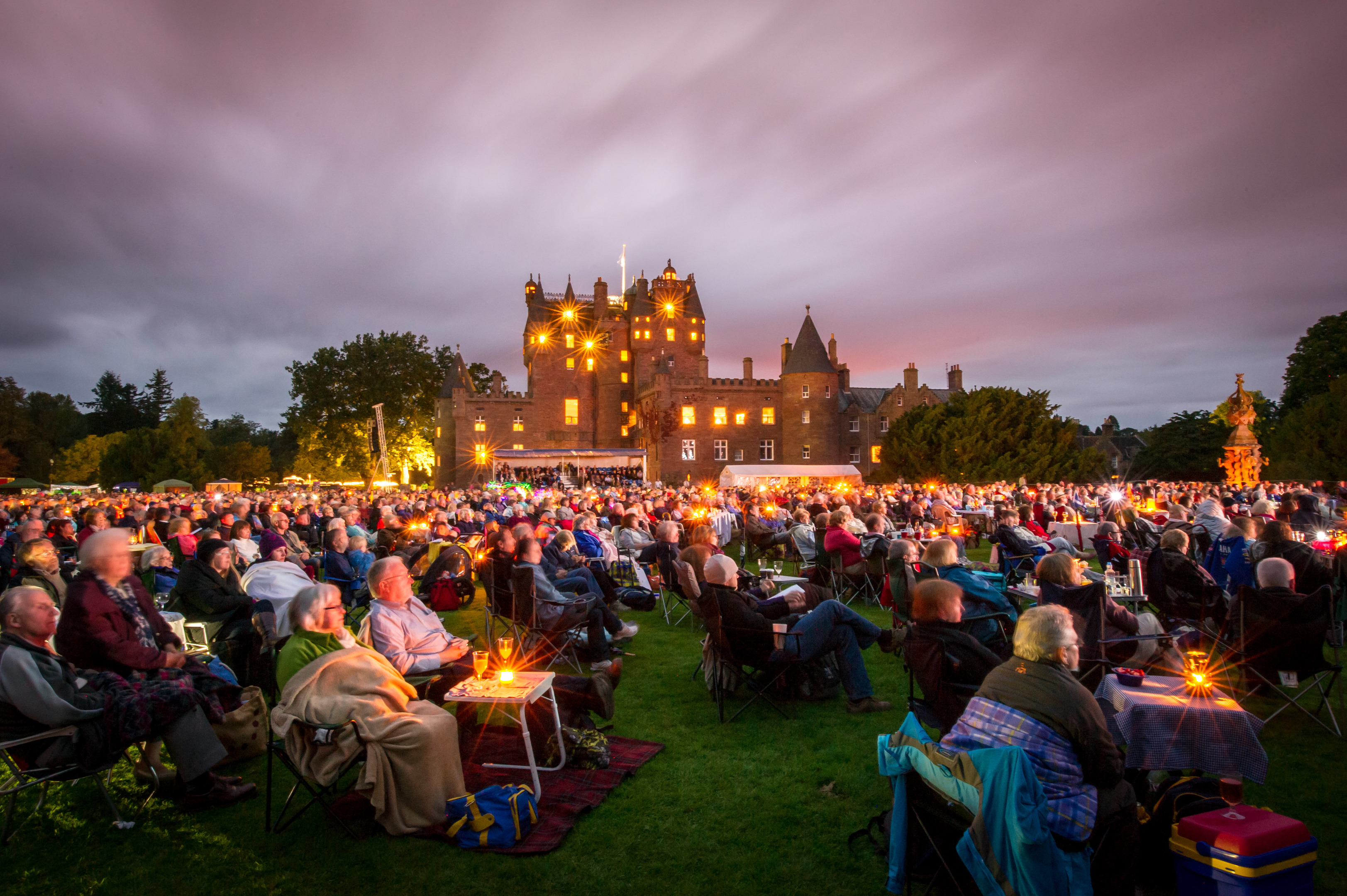The 2012 Prom at Glamis with the RSNO.