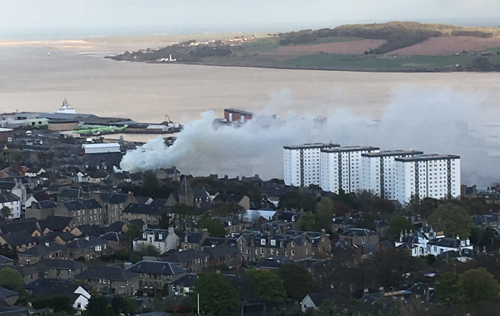 A number of fires have taken place in abandoned buildings in the last week, including one at Forebank House on Tuesday