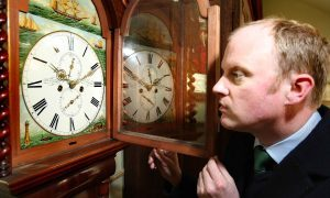 Grandfather clocks from episode of BBC's Heir Hunters to go up for auction