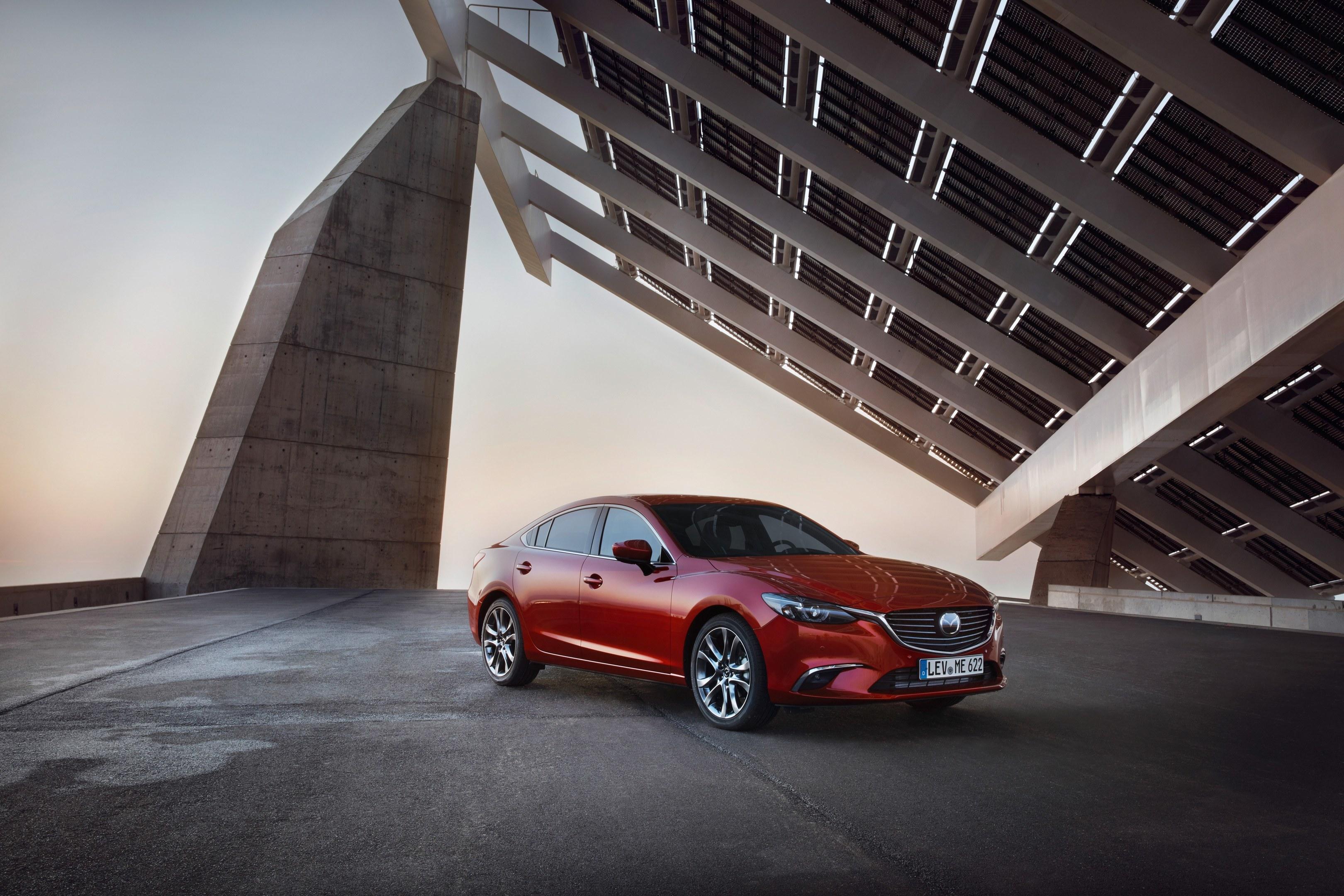 The Mazda 6.