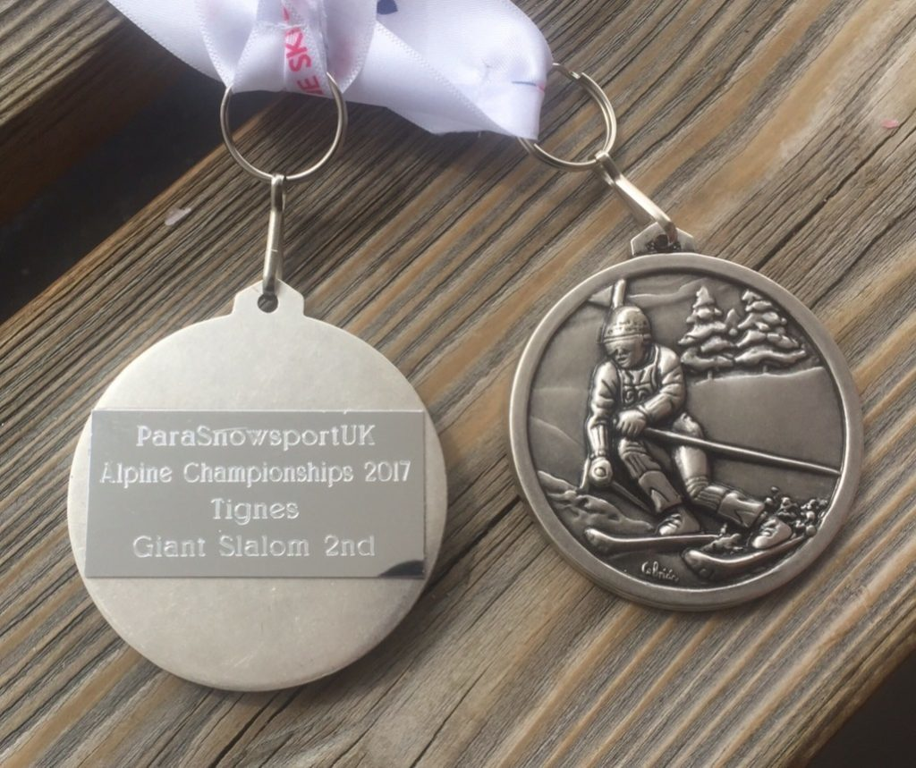 Neil and Billy's silver medals.