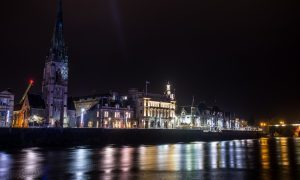 Perth at night,