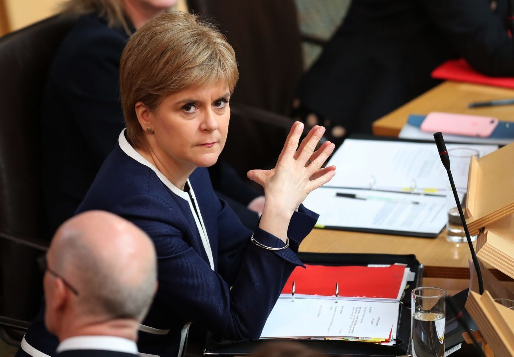 United Kingdom election will determine future direction of Scotland - Sturgeon