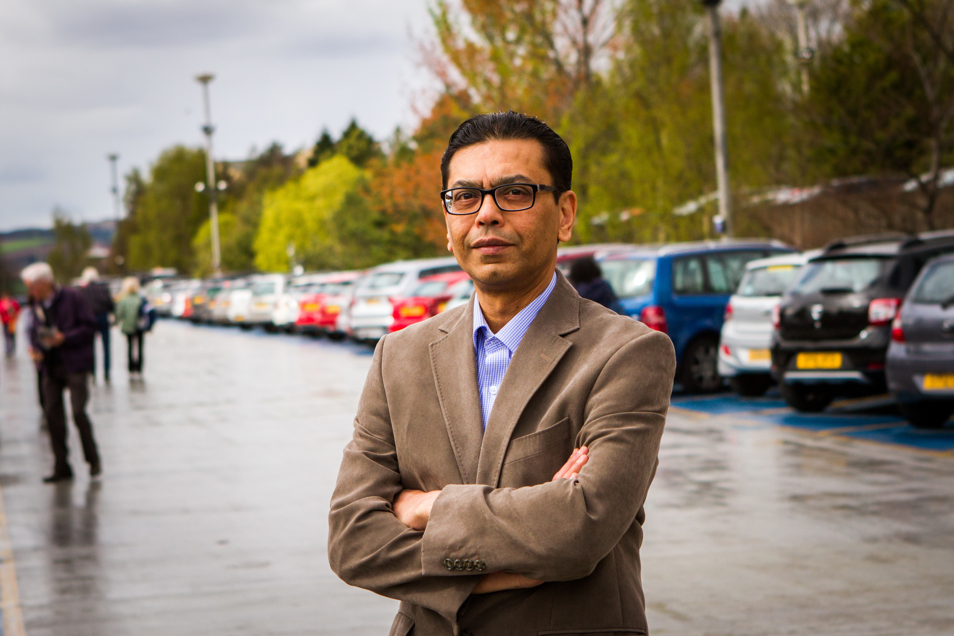 Dr Das may crowdfund to pay for his fine.