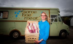 Vikki Banks, director of Seriously Good Venison, with some of the products.