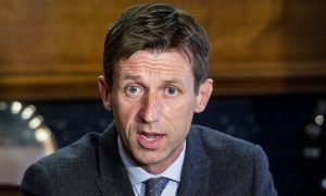 Neil McCann is introduced as new Dundee manager.
