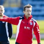 Dundee boss Neil McCann brushes off suggestion he is 'mad' to have become manager