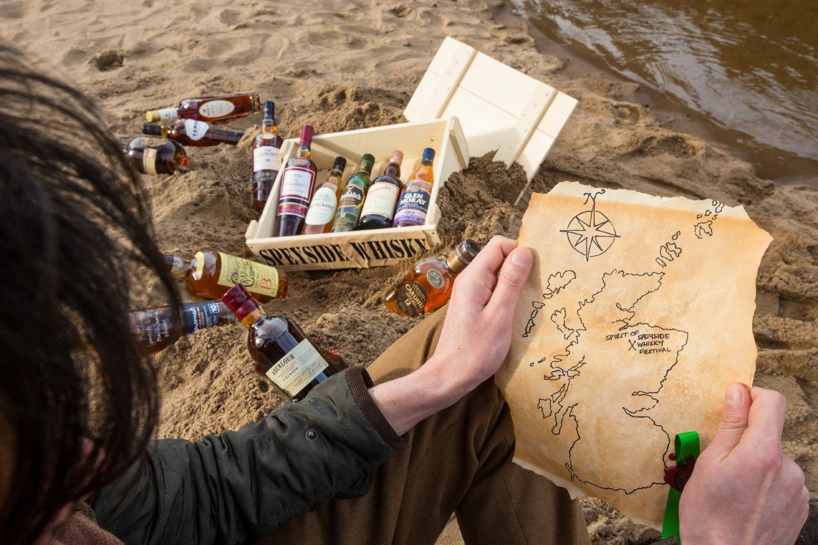 Hunting for distilleries during the Spirit of Speyside Whisky Festival.