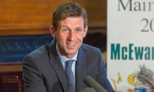Neil McCann speaks to the press at the conference announcing his appointment.