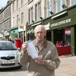 "Kirkcaldy pensioner didn't see ""no parking"" sign — but he was going to Specsavers"