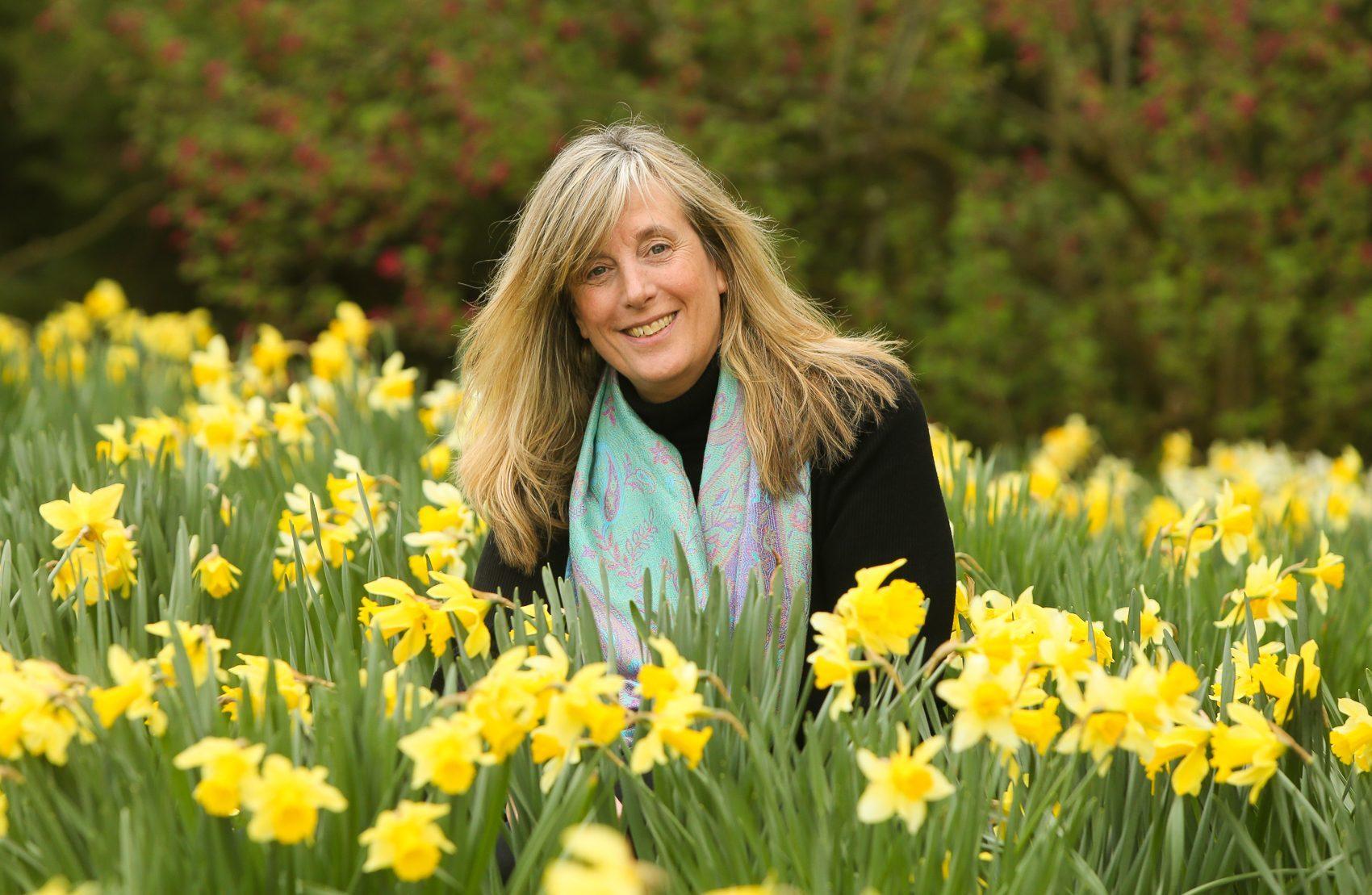 Caroline Thomson prepares for the weekend