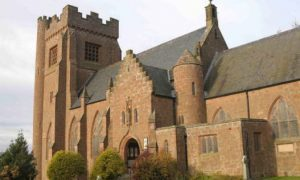 Vandals set off fire extinguishers after breaking into Angus church