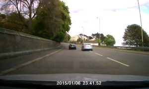 Video: learner driver caught running red light in Dundee