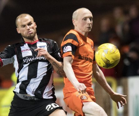 Willo Flood in action against his new club.