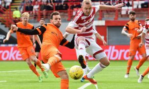 Hamilton Accies 1 Dundee United 0 (agg 1-0): Tangerines staying down as they run out of steam