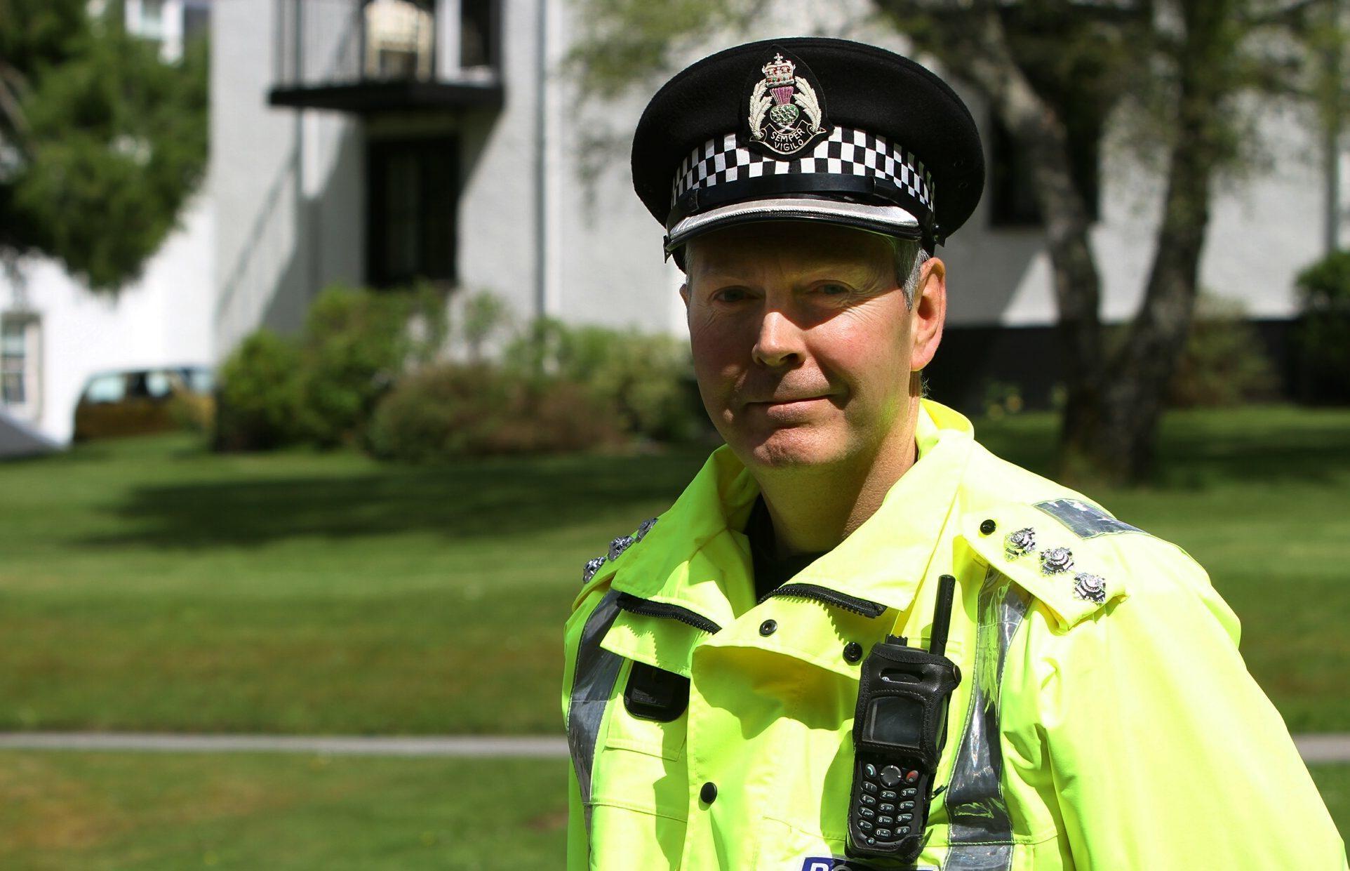 Chief Inspector Ian Scott.