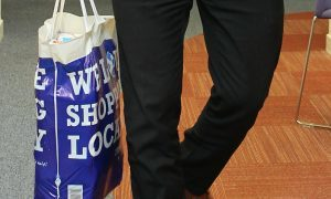 Tesco scrap five pence plastic bag usage in Dundee