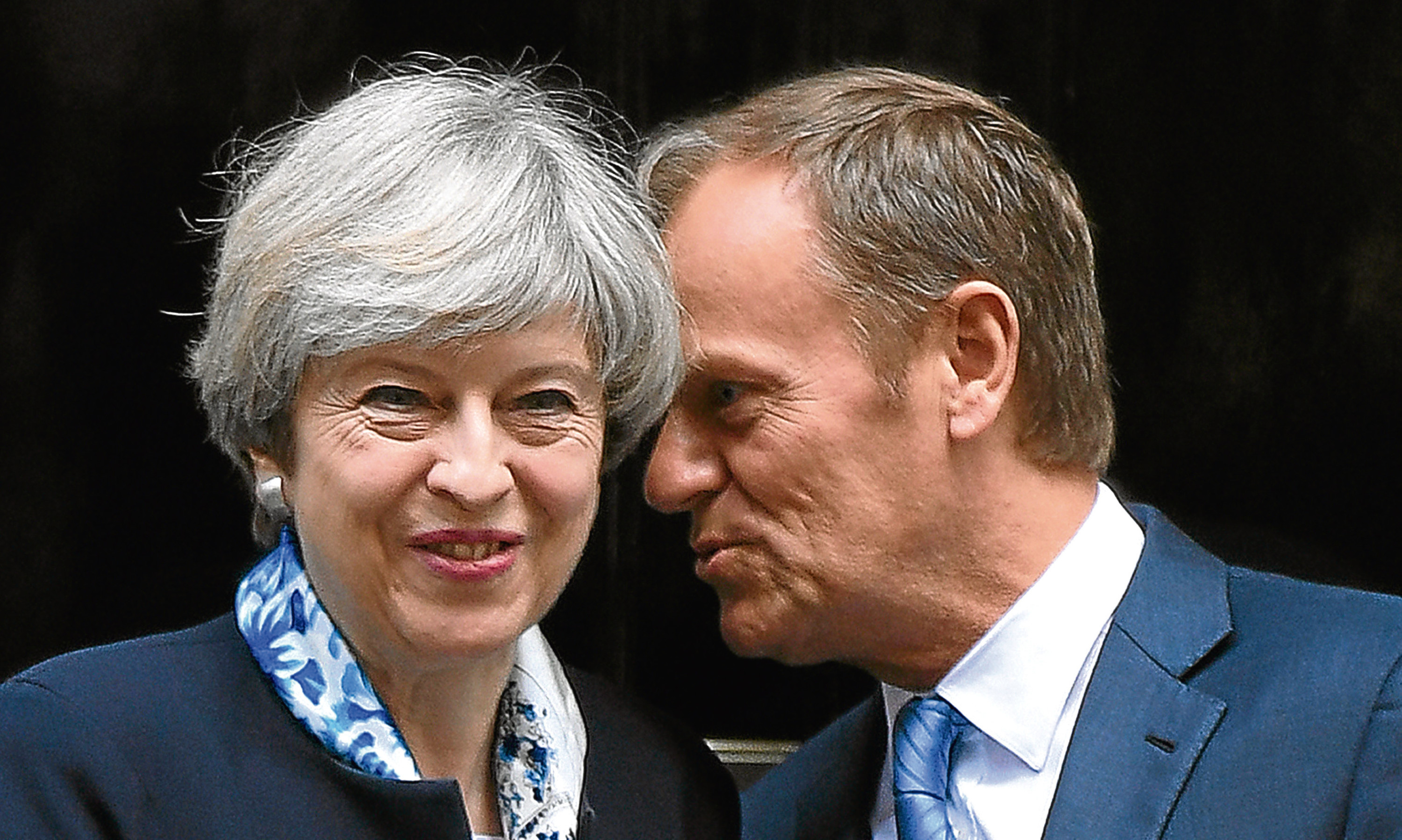 It's sweetness and light now between Theresa May and European Council president Donald Tusk but how long will that stay the case through the Brexit talks?