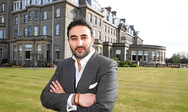 Sharan Pasricha, chief executive of Gleneagles Hote owner Ennismorel