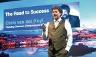 Entrepreneurial Scotland chairman Chris Van der Kuyl addresses business leaders