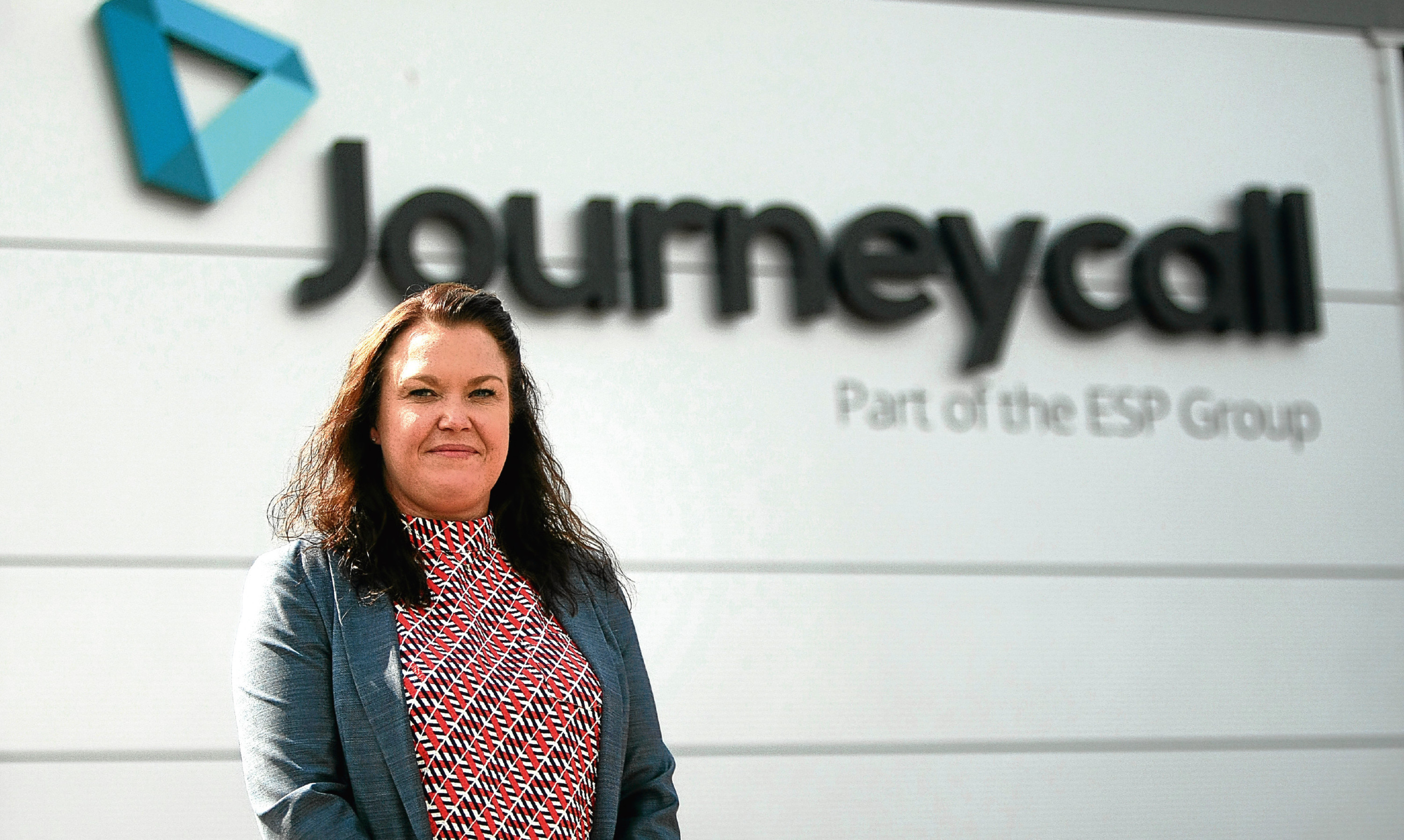 ESP chief operating officer Theresa Wishart at Journeycall in Arbroath