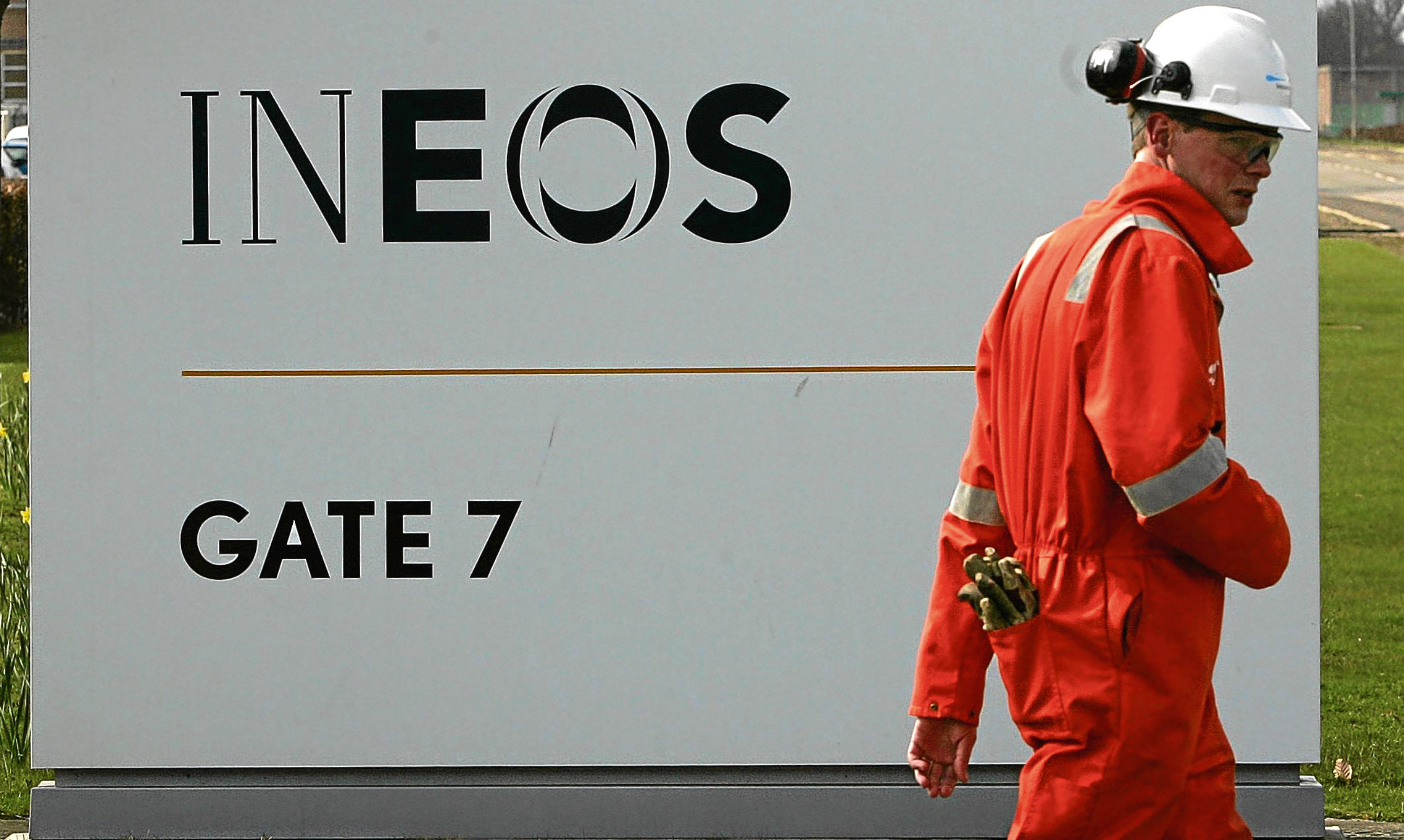 Ineos Grangemouth is the largest industrial site in Scotland