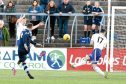 Martyn Fotheringham equalises for the home side.